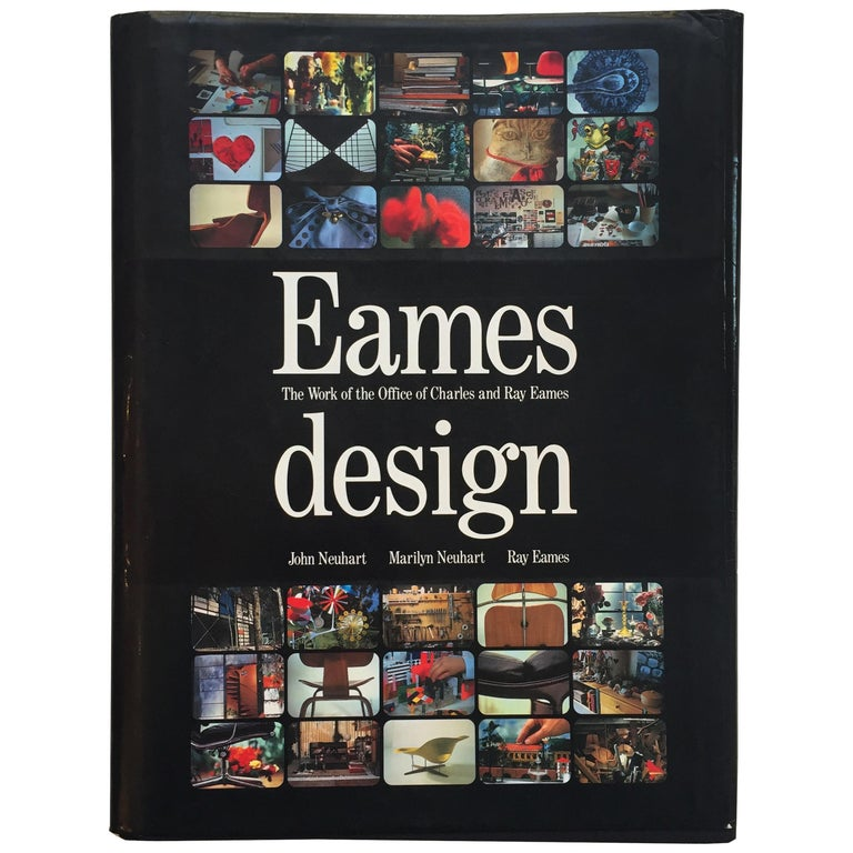 Eames Design, The Work of the Office of Charles and Ray Eames For Sale