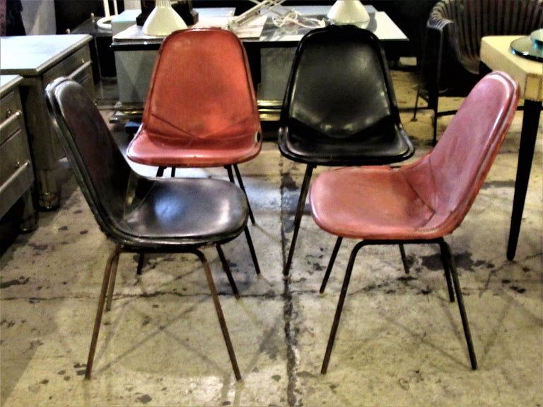 Eames DKX 1 Chairs for Herman Miller For Sale 8