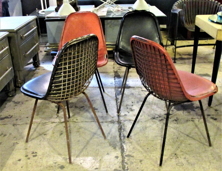 Eames DKX 1 Chairs for Herman Miller For Sale 7