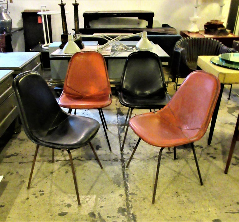 Eames DKX 1 Chairs for Herman Miller For Sale 9