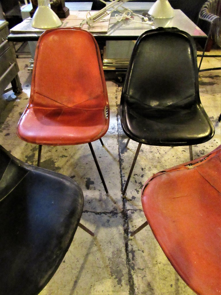 Eames DKX 1 Chairs for Herman Miller For Sale 10