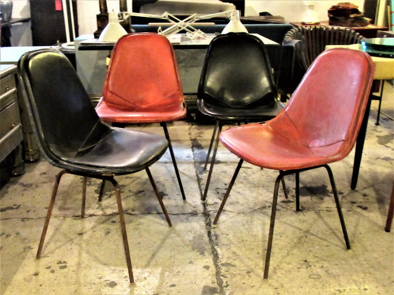 Eames DKX 1 Chairs for Herman Miller For Sale 11