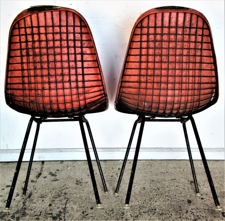 Eames DKX 1 Chairs for Herman Miller For Sale 4
