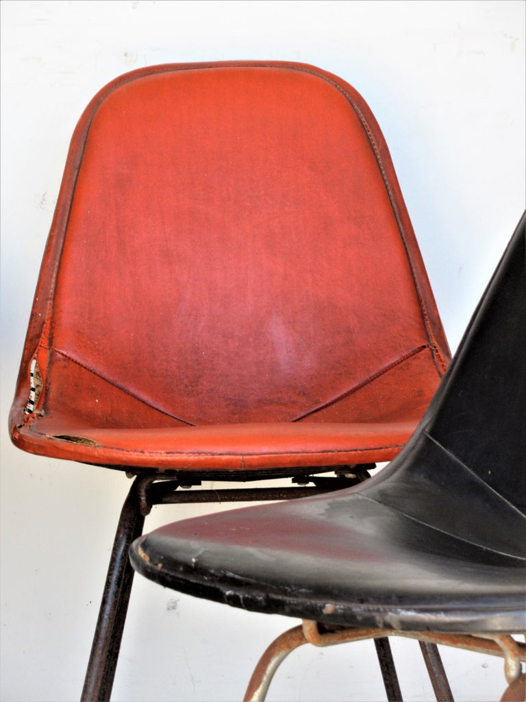 Eames DKX 1 Chairs for Herman Miller For Sale 12