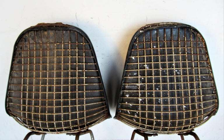 20th Century Eames DKX 1 Chairs for Herman Miller For Sale