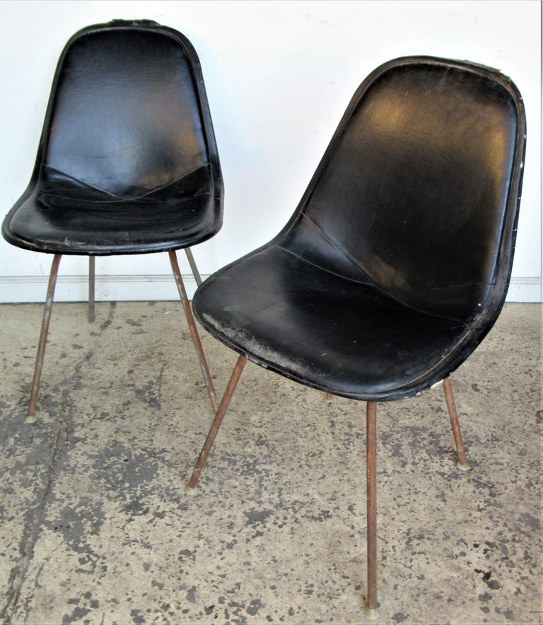 Eames DKX 1 Chairs for Herman Miller For Sale 2