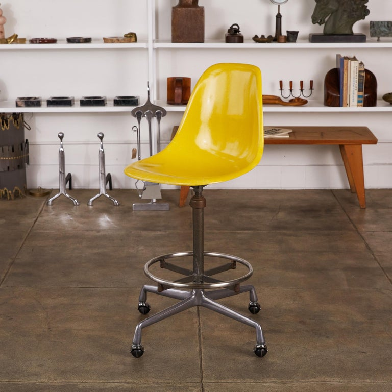 Eames Drafting Stools for Herman Miller For Sale 4