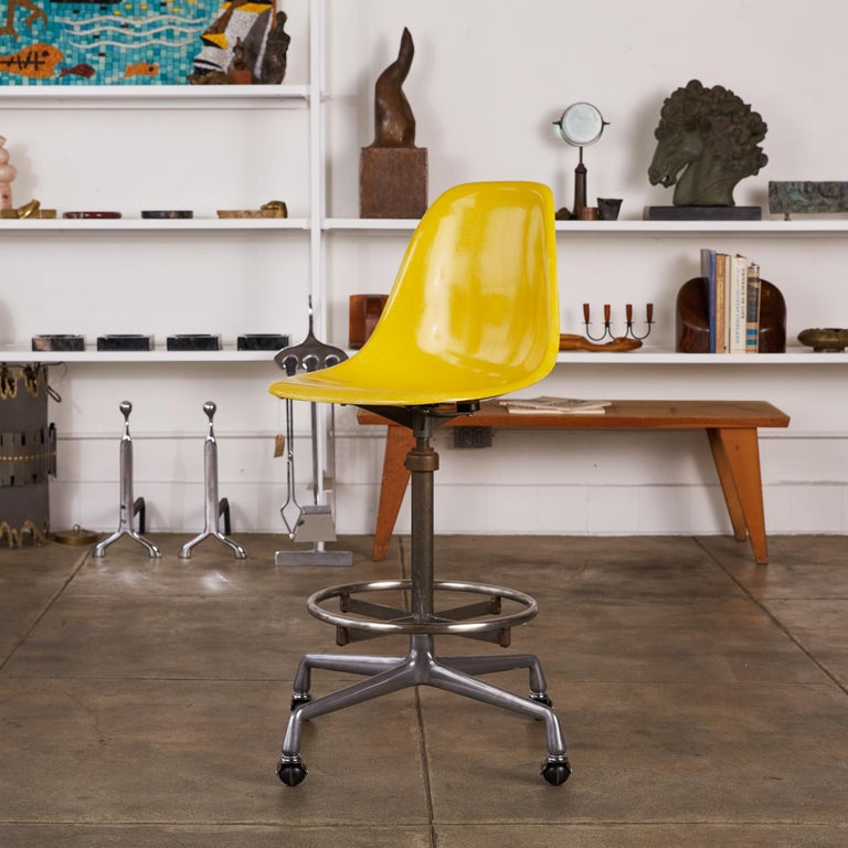 Eames Drafting Stools for Herman Miller For Sale 5