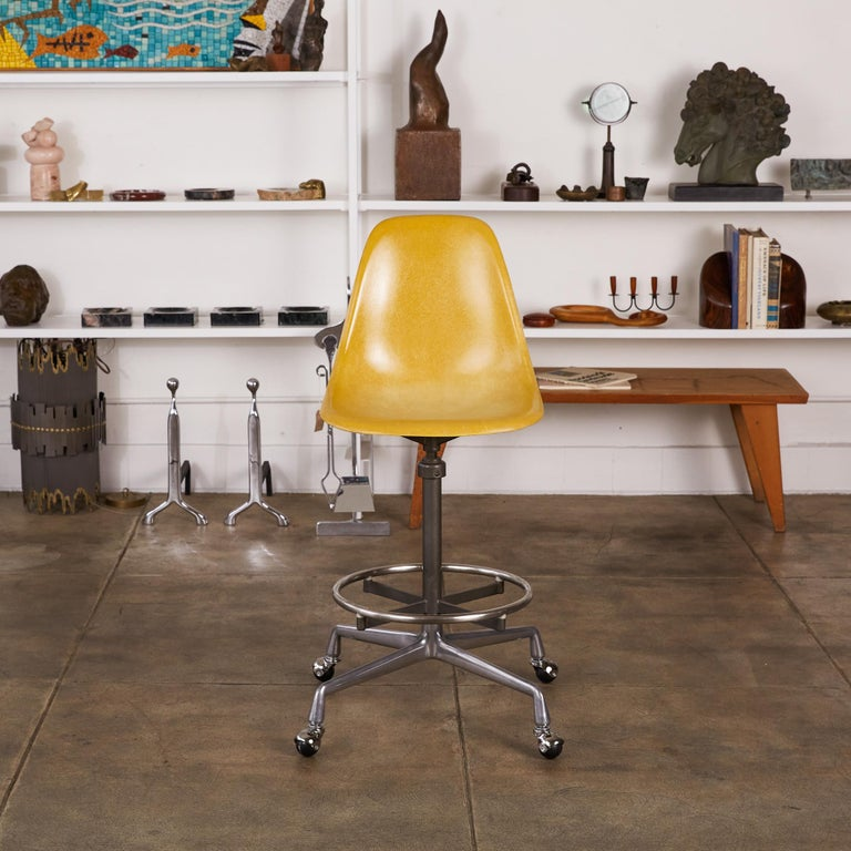 Eames Drafting Stools for Herman Miller For Sale 7