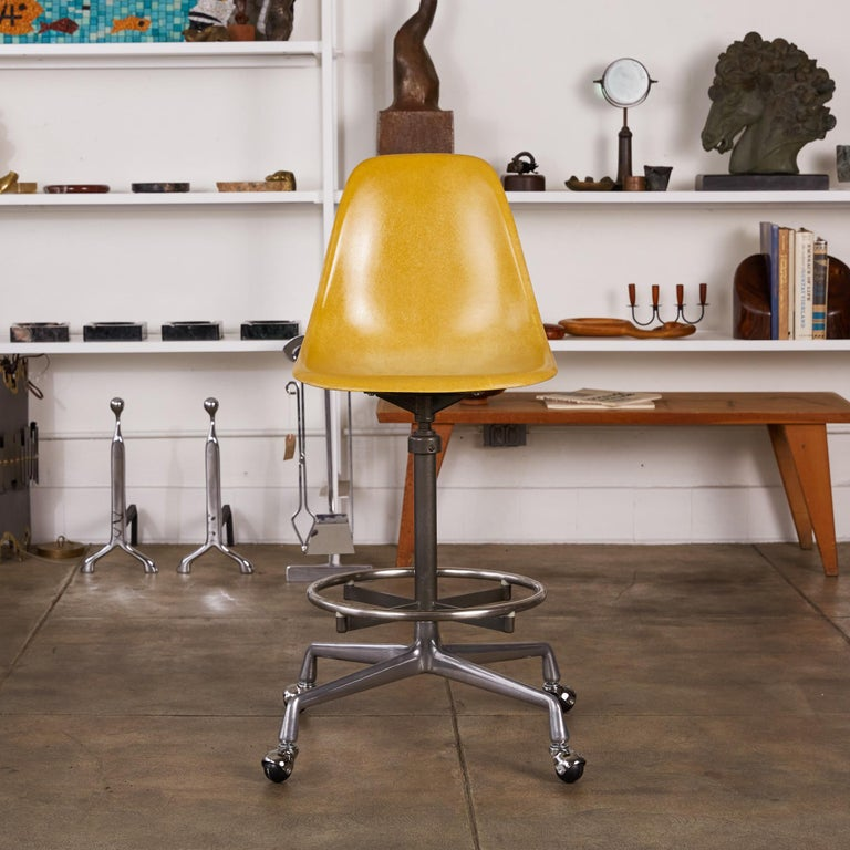 Eames Drafting Stools for Herman Miller For Sale 8