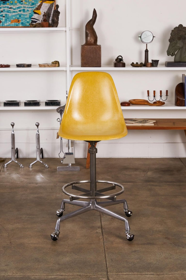 Eames Drafting Stools for Herman Miller For Sale 9