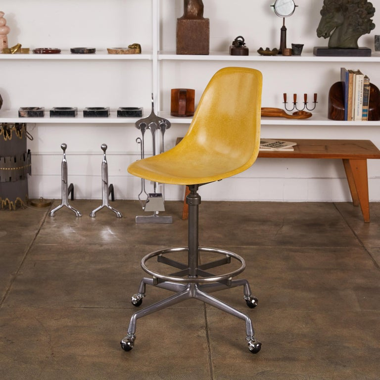 Eames Drafting Stools for Herman Miller For Sale 10