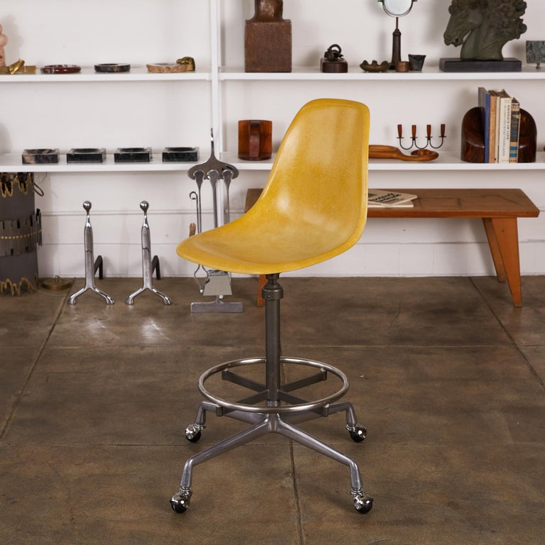 Eames Drafting Stools for Herman Miller For Sale 11