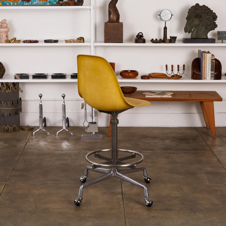 Eames Drafting Stools for Herman Miller For Sale 12