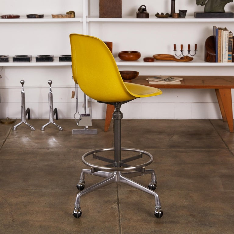 Eames Drafting Stools for Herman Miller For Sale 1