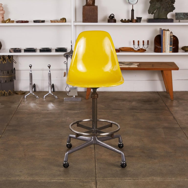 Eames Drafting Stools for Herman Miller For Sale 2