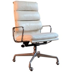 Eames EA219 Aluminium Group Soft Pad Executive Chair by Interform Herman Miller