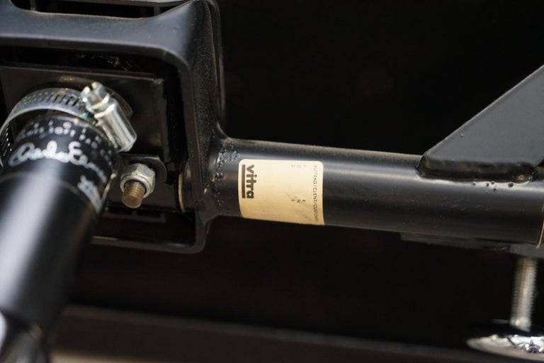 Eames EA219 Vitra Eames High Soft Pad Office Armchair Black Leather 9