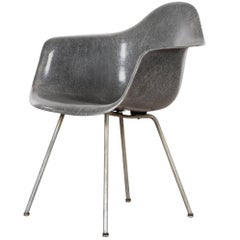 Eames Elephant Grey DAX Herman Miller USA Zenith 'Rope' Chair