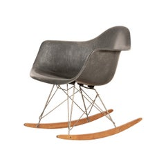Eames Elephant Grey RAR Rocking Chair, Herman Miller, 1950s