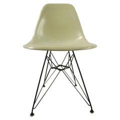Eames Fiberglass Shell Chair on Original Eiffel Tower Base