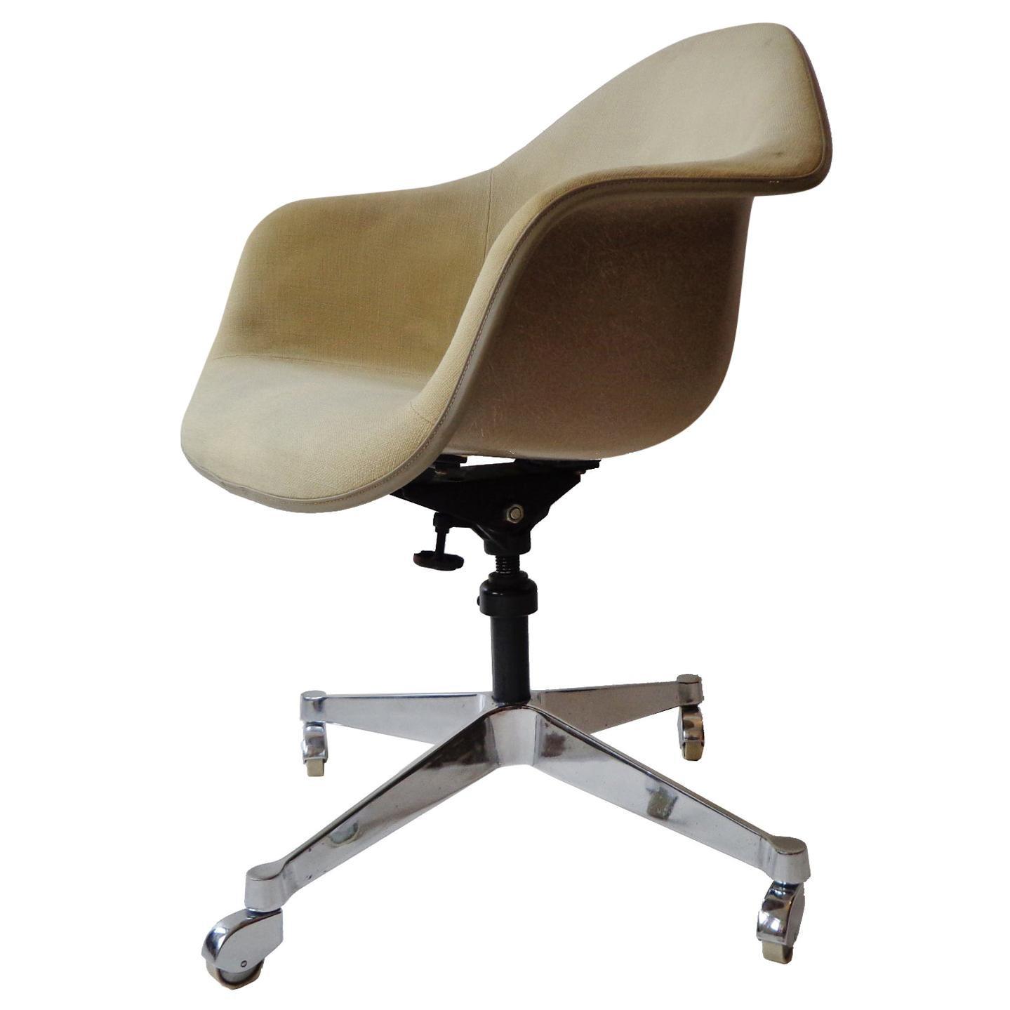 Eames for Herman Miller DAT-1 Swivel Desk or Office Armchair Midcentury, 1960s