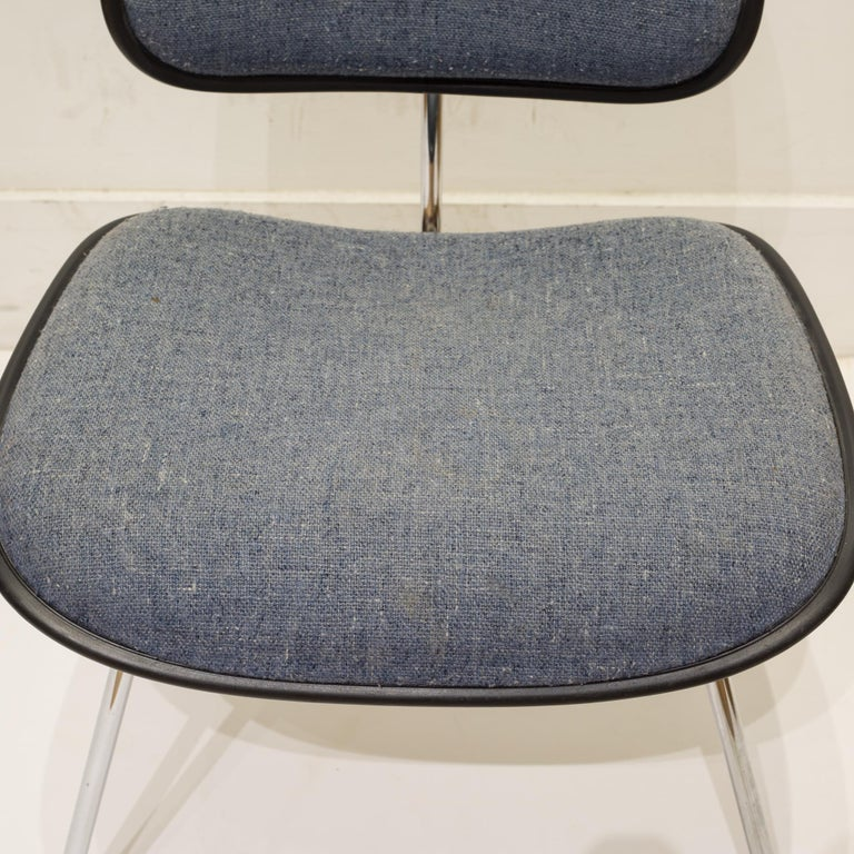Eames for Herman Miller EC-127 DCM Padded Chair, circa 1970-1988 For Sale 2