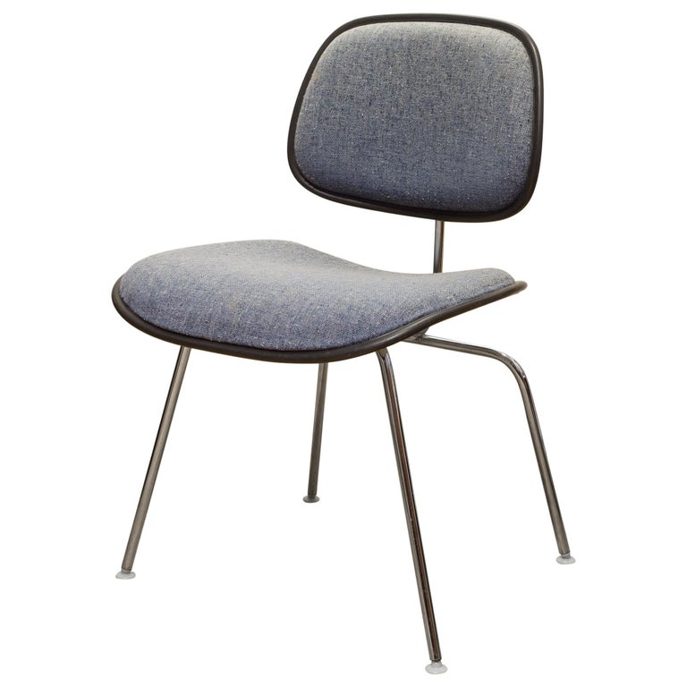 Eames for Herman Miller EC-127 DCM Padded Chair, circa 1970-1988 For Sale