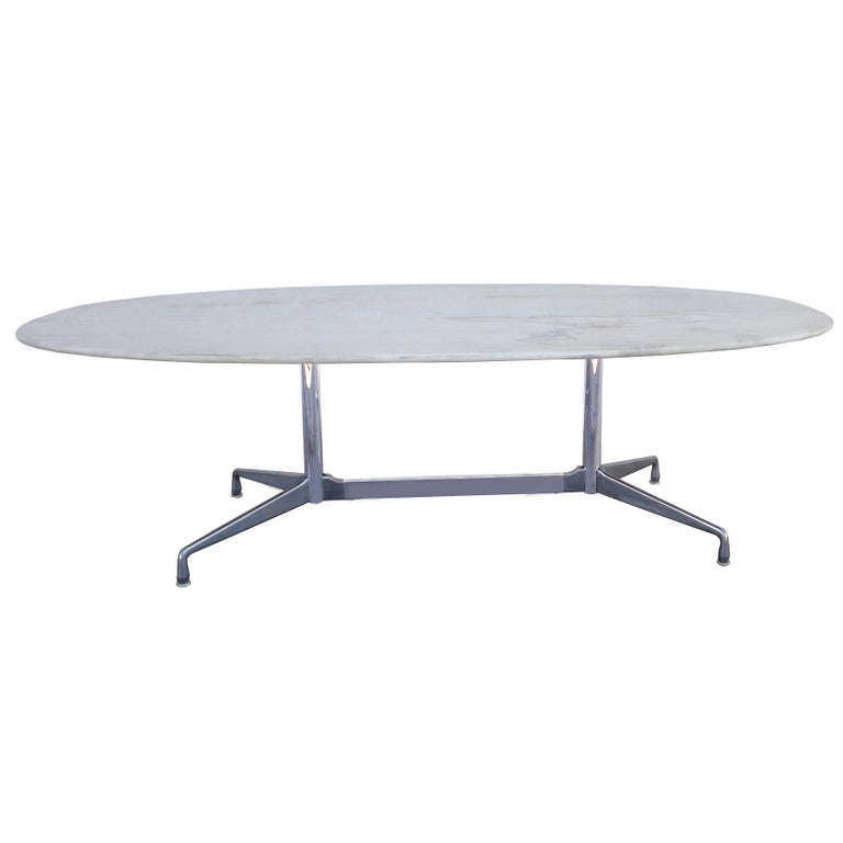 This special version of the Eames conference table was created for the