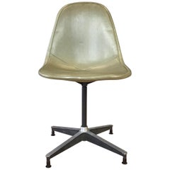 Eames for Herman Miller PKC-1 First Generation Swivel Side Chair, 1954