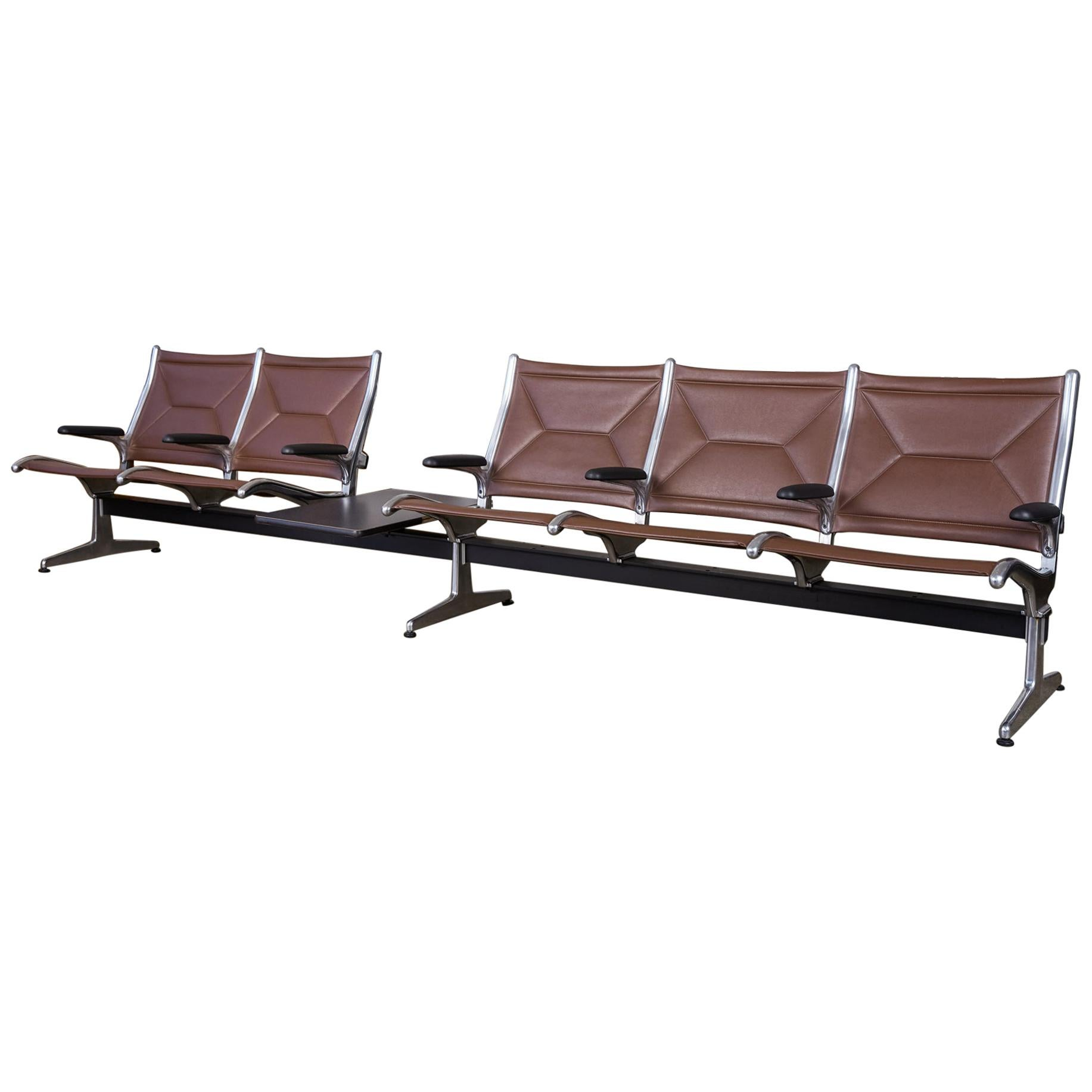 Eames for Herman Miller Seating System in Brown