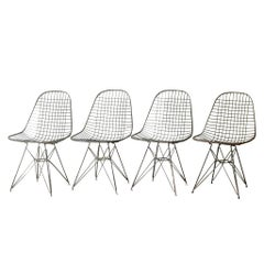Eames for Herman Miller Wire DKR Chairs, circa 1950 Price is Per Chair