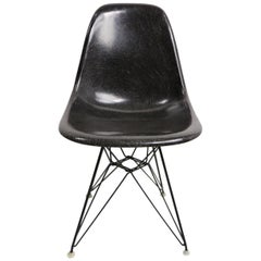 Eames Grey Fiberglass DSR on Eiffel Tower Base