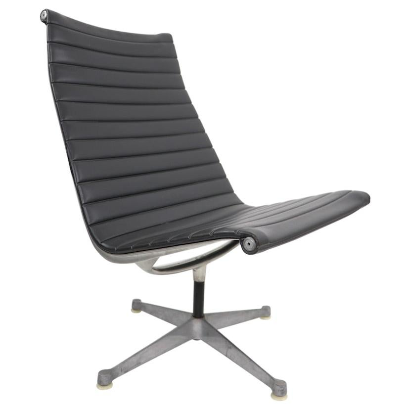 Eames Herman Miller Aluminum Swivel Lounge Chair
