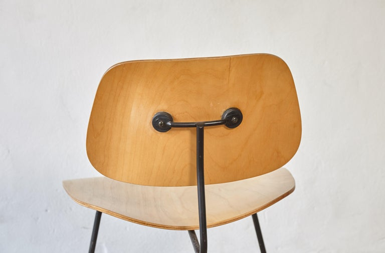 Mid-20th Century Eames LCM Lounge Chair, Herman Miller, USA, 1950s For Sale