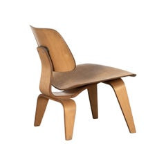 Eames LCW Maple Lounge Chair for Herman Miller