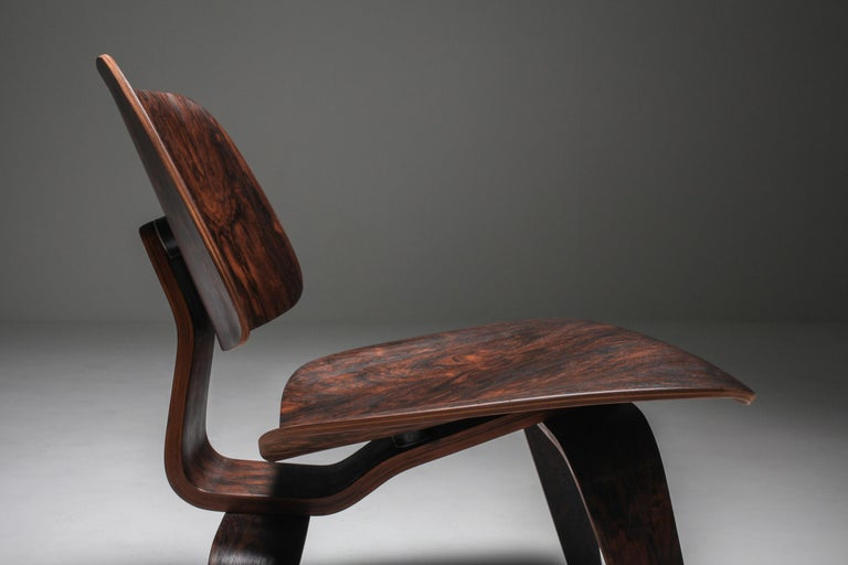 Eames LCW Pre-Production in Rio Rosewood For Sale 3