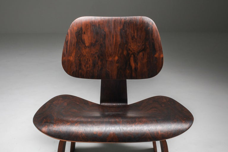Eames LCW Pre-Production in Rio Rosewood For Sale 5