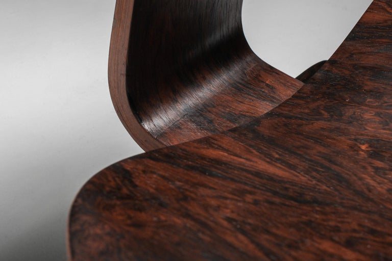Eames LCW Pre-Production in Rio Rosewood For Sale 6