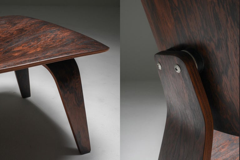 Eames LCW Pre-Production in Rio Rosewood For Sale 7