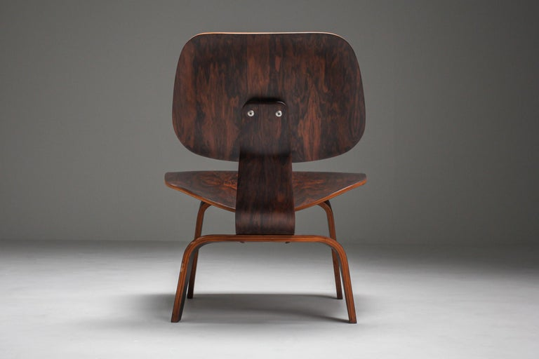 American Eames LCW Pre-Production in Rio Rosewood For Sale