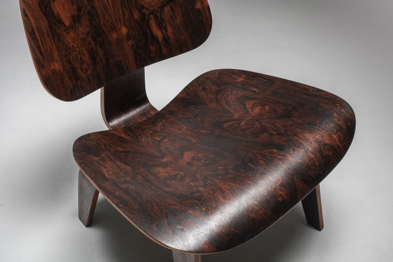 Eames LCW Pre-Production in Rio Rosewood For Sale 1
