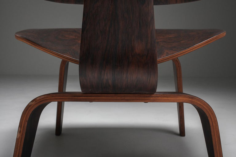 Eames LCW Pre-Production in Rio Rosewood For Sale 2