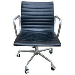 Eames Leather Management Desk Chair
