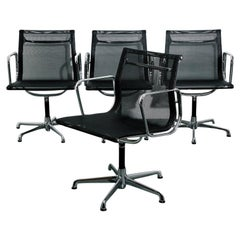 Eames Mesh Aluminum Group Chairs