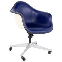Eames Mid Century Purple Fiberglass Shell Chair