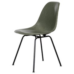 Eames Olive Green Dark DSX Dining Chair for Herman Miller