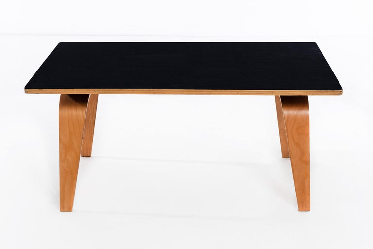 Charles and Ray Eames for Herman Miller early production OTW coffee table.