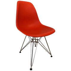 Eames Plastic Red Chair, Vitra