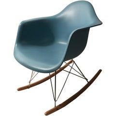 Eames Robin's Egg Blue Rar Rocking Chair for Vitra